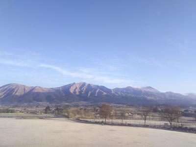 【1県1食 ちんたら帰郷旅5】阿蘇山を一望する最高の露天風呂、宮崎の実家へ到着