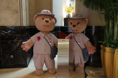 シンガポールでホテルステイ 2019<1>フラトンホテルに到着!編