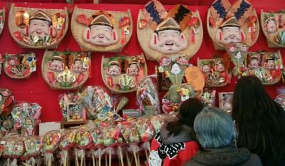 神戸への帰省旅行 その① 車窓の富士山と柳原十日えびす