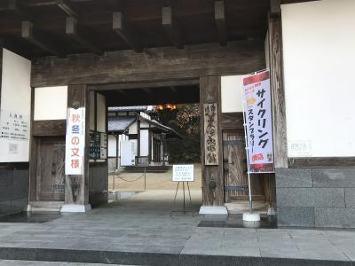 栗田美術館庭園の紅葉を訪ねて