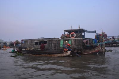 メコンデルタの旅、ベトナム本土最南端へ