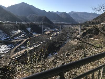 草津温泉と八ッ場ダム工事現場見て歩き