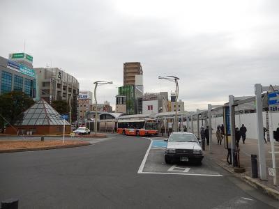 和光市南口駅前の風景