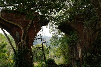 台中・三義・彰化で鉄道遺産と台湾飯②三義(勝興車站・龍騰断橋)