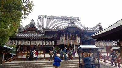ゴンママの歩こう会 大阪市我孫子観音付近を歩く。