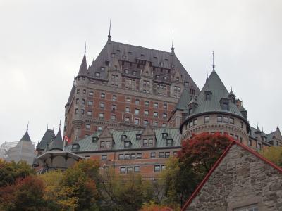 秋彩カナダ10日間④ ケベック