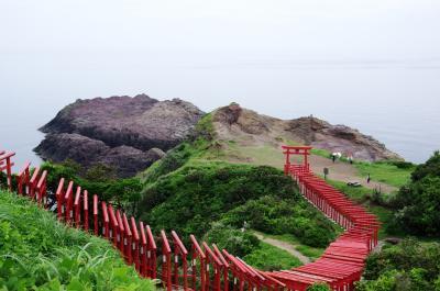 元乃隅稲成神社 ホルンフェルス大断層  萩城跡 萩反射炉