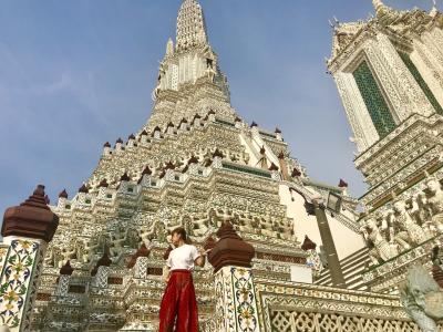 #2 女子2人バンコク旅行 2日目 街並み観光!