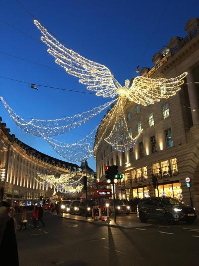初ひとり旅 @ロンドン! ④クリスマスマーケットとイルミネーション(2日目 Part2)