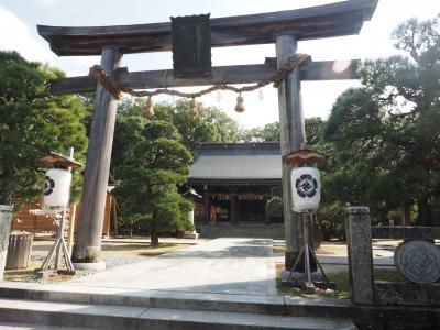 にわかツアコン奮闘記 2018 2日目  萩散策と世界遺産宗像大社の参拝と嬉野温泉でほっこり