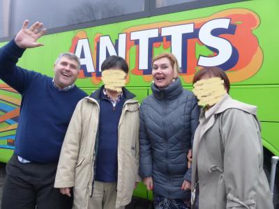 バスでの国境越え(親子旅第12弾ルーマニア・ブルガリア 08ブカレスト→ベリコ・タルノボ)