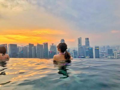 #2 2泊4日弾丸シンガポール旅 女子旅 2日目 定番観光コース!マリーナベイサンズに宿泊!