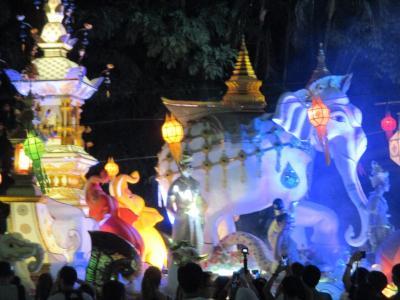 タイ・ミャンンマーの旅(3)             チェンマイの新しい寺とローイクラトン