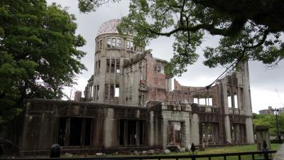 広島原爆ドーム 広島城