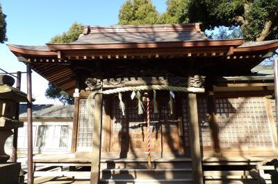 熊野神社(川崎市幸区北加瀬1)-2019年頭