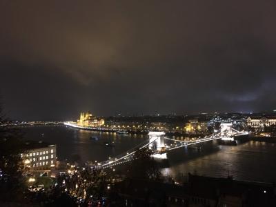 雨のブダペスト