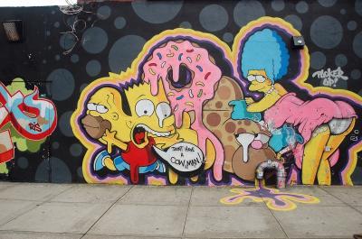 ブルックリン壁画アート