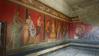 ぐーたらにゃんこの海外旅行記〜南イタリア その2 ポンペイ遺跡
