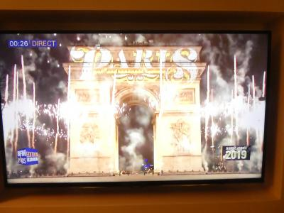2018年12月-2019年1月 年末年始はパリで。16年振りのパリ満喫の旅(その3、'18カウントダウン)