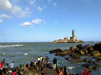 南インド・ケララの風1(出国~カーニャクマリ)