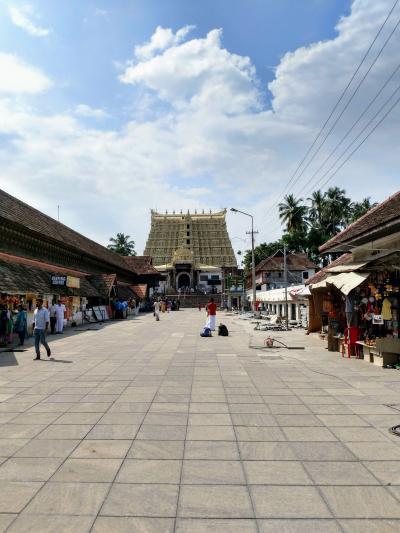 南インド・ケララの風2(トリバンドラム街歩き)