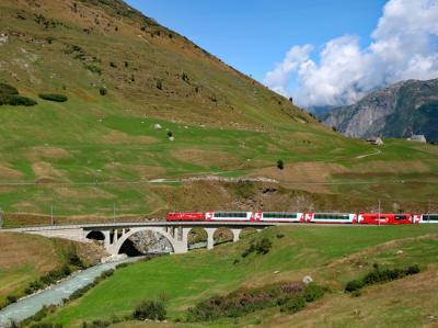 夏のスイス満喫旅行(3日目)★氷河特急