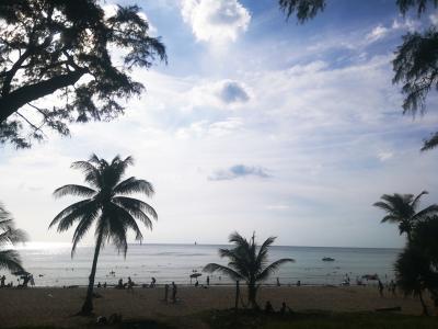 プーケット一人旅③カロンビーチ