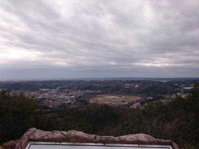 正月早々 日和田山~物見山