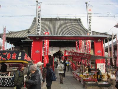 本笠寺から神宮前までのハイキング