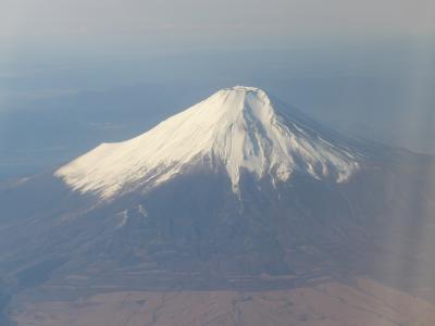 ただ今、JALで移動中(*^-^*) 第五十一弾>>>>富士山が久々に綺麗に見えた満足の飛行で広島へ!!