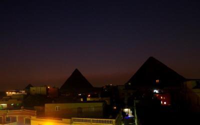 エジプト航空様さまです。