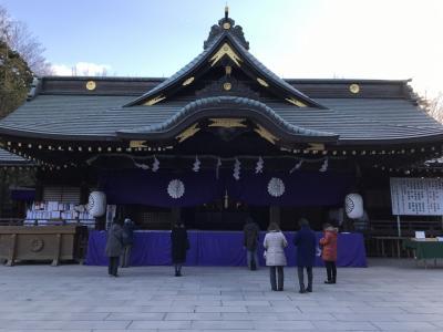 青木屋から大國魂神社へ