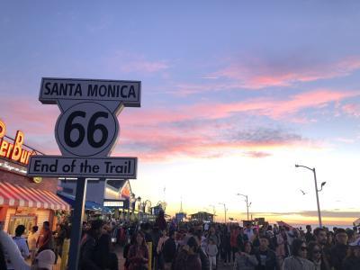 7日目~9日目 Hollywood メルローズ Santa Monica