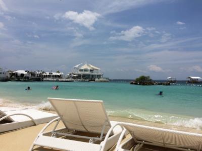 2018夏休みセブ島旅行*3日目 ホテルのビーチでのんびり&スパ*