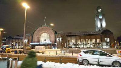 冬の欧州周遊【1】~ヘルシンキ・サンタクロースエクスプレス(寝台列車)~