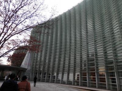 新国立美術館・六本木 +(私的な近況)