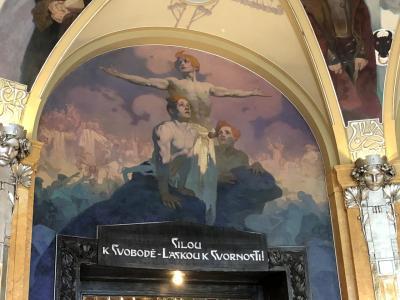 2018年GW プラハ旅行~5日目・街歩き③市民会館とスメタナホールでのコンサート