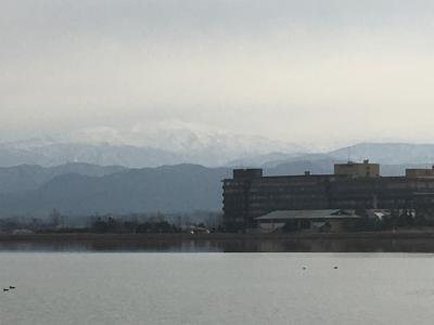 寒い冬はやっぱり温泉(3日目、片山津温泉)