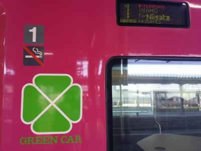 小4息子と鉄道二人旅★3日目男鹿線と帰路いなほで新潟へ