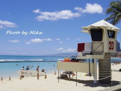 ハワイで過ごす結婚記念日③ ワイキキでビーチ沿いをのんびりお散歩しながら食べ歩き