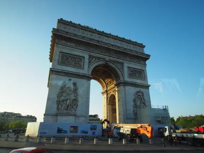フランス旅行-2018(2日目①) パリ/モン・サン=ミシェル