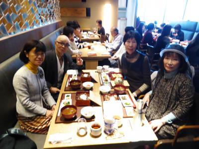 2018年師走 名古屋で友人とお食事会