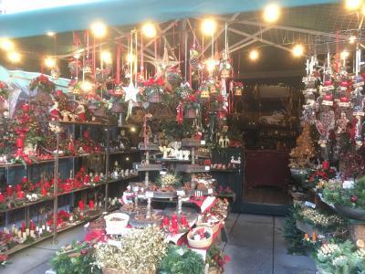 ザルツブルクのクリスマスマーケット!友達に連れてってもらったよ!