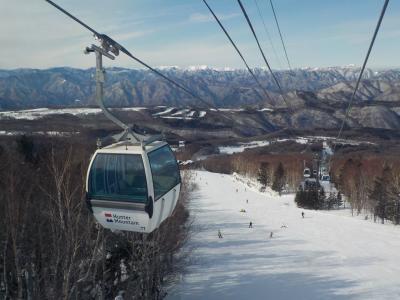 栃木へ! その1 まずはハンターマウンテン塩原でスキー