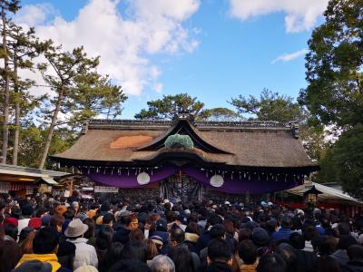 2019年1月3日 住吉大社に初詣!