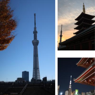 2018年12月 旅人気分で東京出張♪~御朱印巡りとスカイツリーとお寿司を堪能した2日間☆~