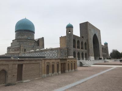 真冬のウズベキスタンの旅