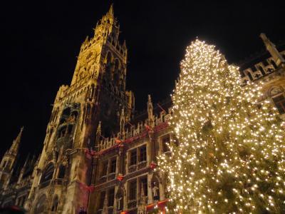 ドイツクリスマスマーケット巡り(3日目・ヴィース教会・ノイシュバンシュタイン城・ミュンヘン)