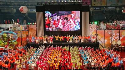 2019年1月 東京ドーム♪ふるさと祭り東京2019♪ウインターイルミネーション