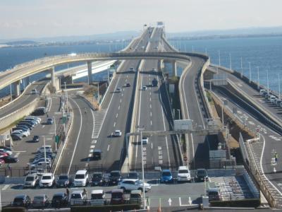 東京湾アクアライン横断 路線バスの旅 A★N★D 木更津市内をちょっとお散歩♪
